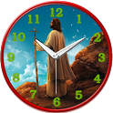 Jesus Analog Clock icon