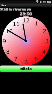 Vad är klockan?- screenshot thumbnail