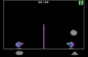 Screenshot of Arcade Volleyball