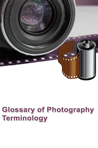 Photography Glossary