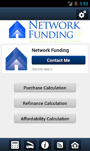Network Funding Mortgage App