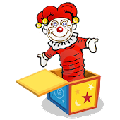 CLOWN JACK-IN-A-BOX