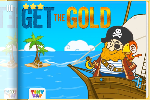 Pirate Puzzles - Get The Gold