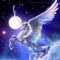 Fantasy Unicorn Live Wallpaper icon