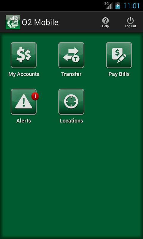 O2 Mobile Banking - screenshot