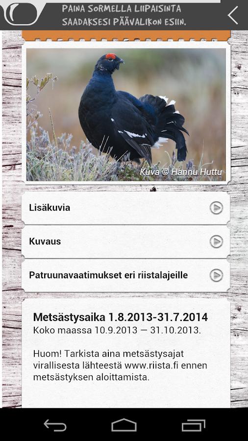 Jahtiopas- screenshot