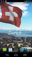 Screenshot of 3D Swiss Flag Live Wallpaper