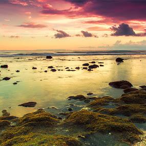 kaprusan beach by IDewa ZesmaerthaPrabawatma - Landscapes Sunsets & Sunrises