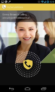 my Secure Voice - safe calls - screenshot thumbnail