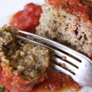{Wicked Good} Italian Meatballs.