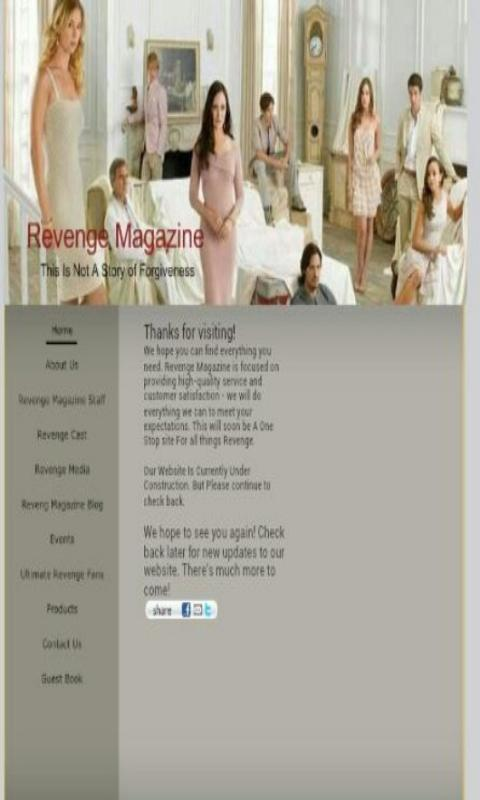 Revenge Magazine - screenshot
