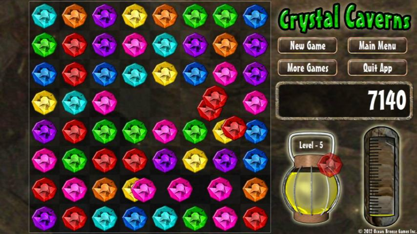 Crystal Caverns - FREE- screenshot