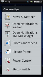 Open Notifications+MEMO - screenshot thumbnail