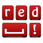 Red Keyboard Free