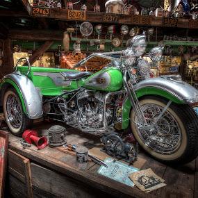 Harley Trike by David Kawchak - Transportation Motorcycles ( harley, harley davidson, classic harley, harley davidson trike, classic harley davidson )