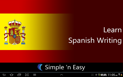 Learn Spanish Writing