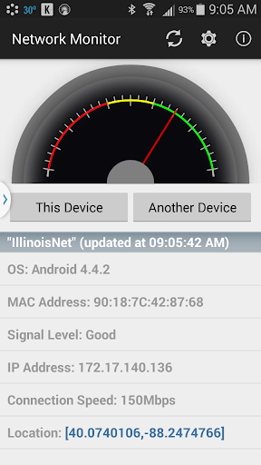 UI Network Monitor