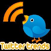 Twitter trends live wallpaper