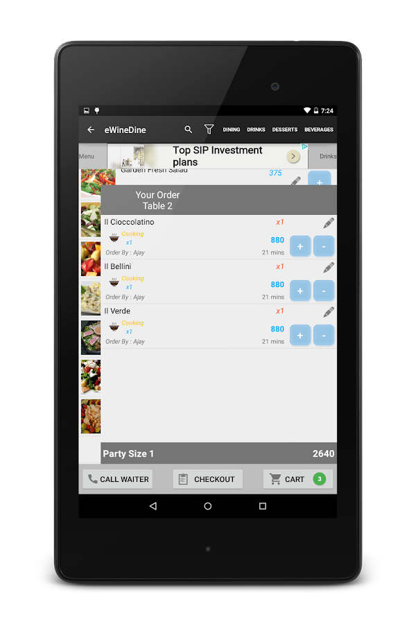 Free Restaurant Digital Menu- screenshot