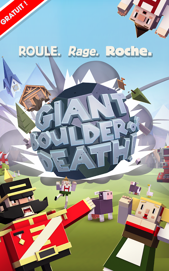 Giant Boulder of Death – Capture d'écran