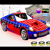 Spider Car Modify Tuning Game
