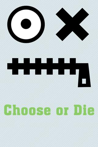 Choose or Die- screenshot