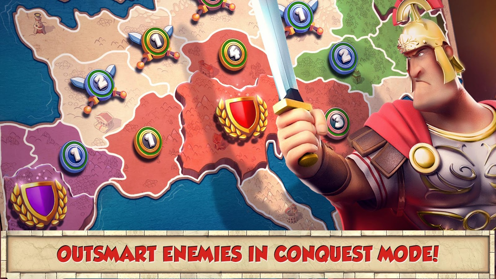 Screenshots of Total Conquest for Android