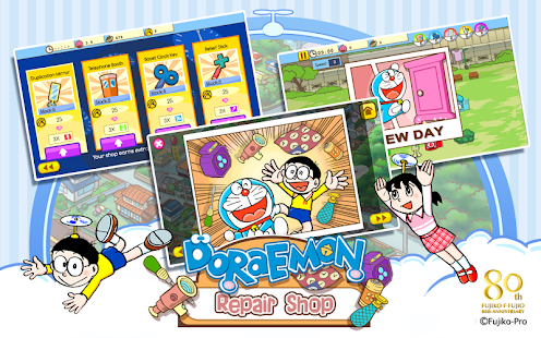 2 Doraemon Repair Shop App screenshot