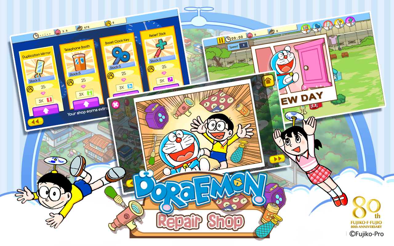 Doraemon Repair Shop- screenshot