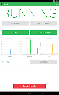Linode Manager- screenshot thumbnail