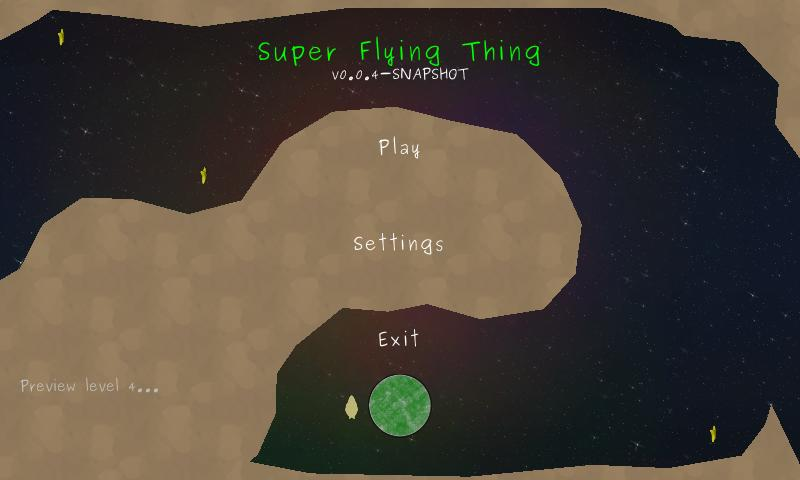 Super Flying Thing BETA- screenshot