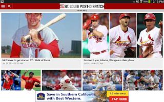 Screenshot of Post-Dispatch Baseball