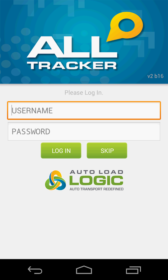 Auto Load Logic Tracker- screenshot