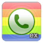 exDialer Black ICS Theme