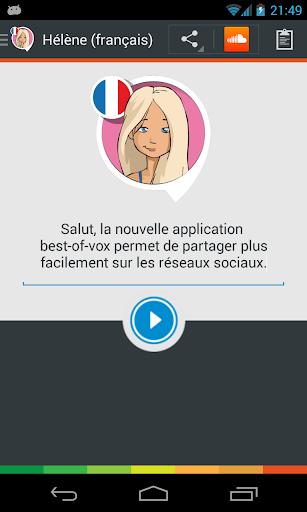 Voix Hélène français