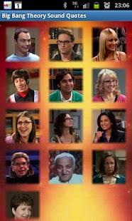 Big Bang Theory Sound Quotes
