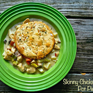 Skinny Chicken-Leek Pot Pie