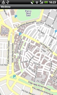 Modena Street Map Android Apps on Google Play