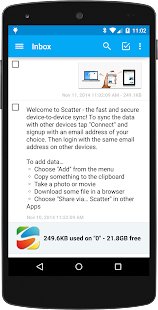 Scatter Clipboard & File Sync - screenshot thumbnail