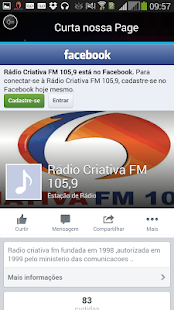 Radio Criativa FM Screenshot 2
