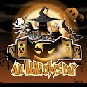 lovely halloween wallpapers logo