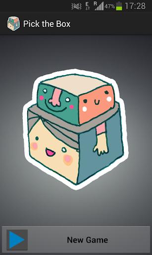 Pick the Box Puzzle