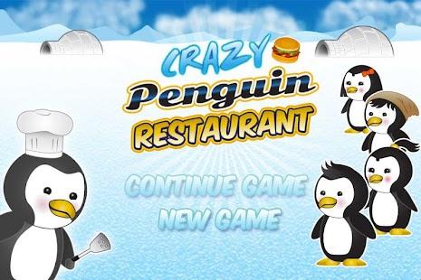 Penguin-Restaurant-Waitress 1