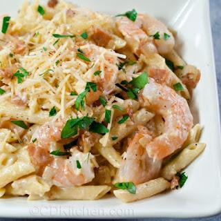 Mama Melrose's Ristorante Italiano Shrimp Carbonara