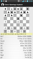 Screenshot of Chess Openings Explorer