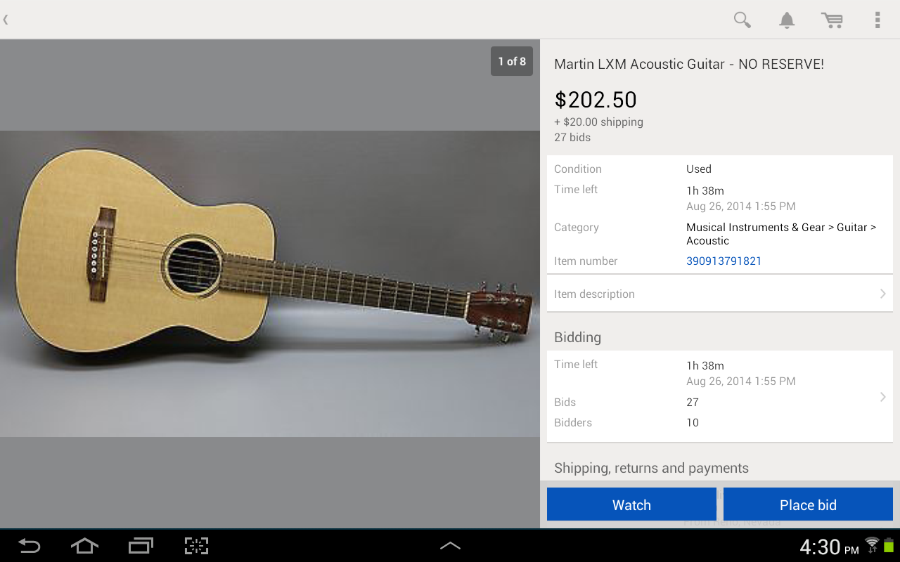 eBay- screenshot
