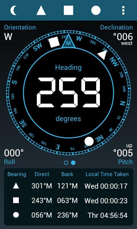 Field Compass Plus - screenshot