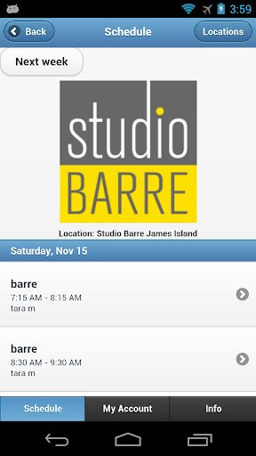 Studio Barre James Island