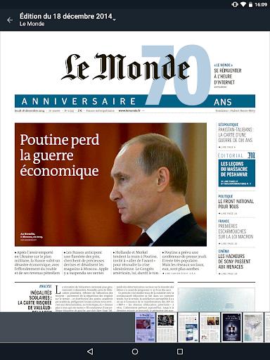 【免費新聞App】Journal Le Monde-APP點子