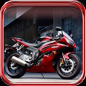Motorbikes live wallpaper